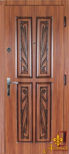 Двері з патиною