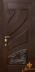 Вхідні однопільні двері