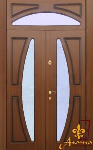 Вхідні двері зі склопакетом