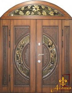 Двері з соняшником