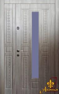 Двері зі склопакетом